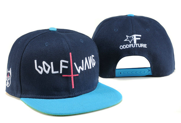 Odd Future Golf Wang Blue Snapbacks Hat TY